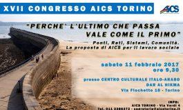 Convocazione XVII Congresso Aics Torino