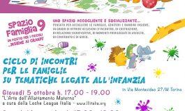 SPAZIO FAMIGLIE 9 - incontri per le famiglie su tematiche legate all'infanzia