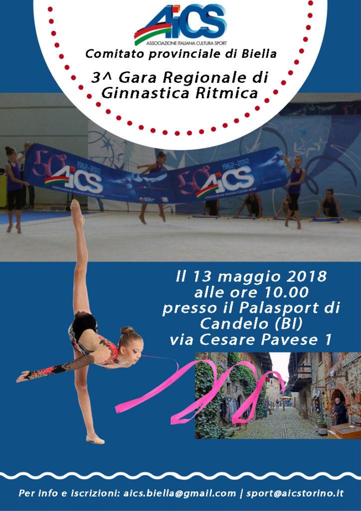 CLASSIFICHE CAMPIONATO REGIONALE AICS DI GINNASTICA RITMICA – 3^ prova