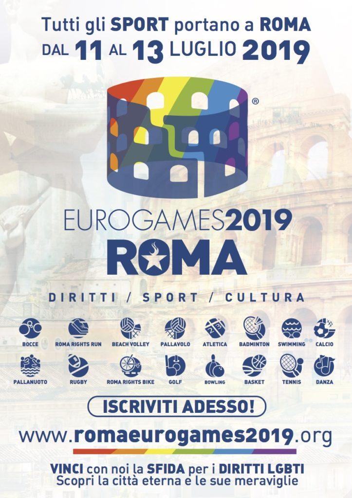 EUROGAMES2019 ROMA