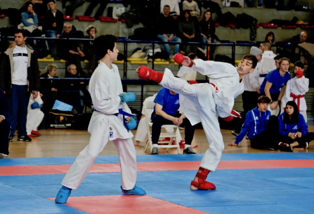 Terza gara regionale di karate