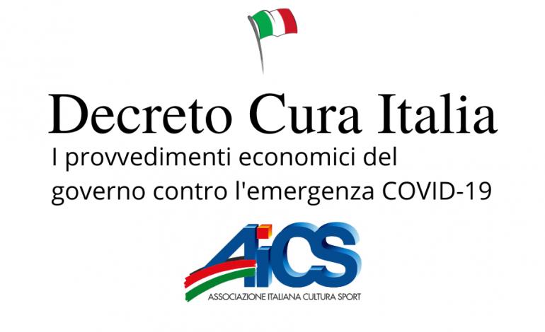 #CuraItalia: gli interventi per terzo settore e associazionismo, imprese, lavoratori e famiglie