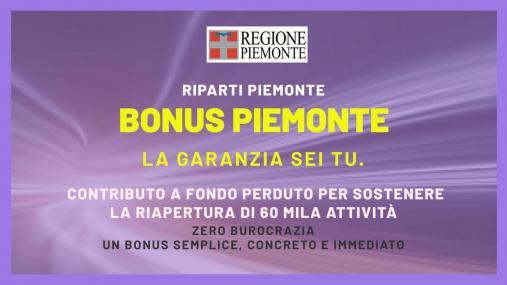 Bonus Piemonte per le APS