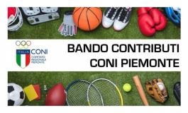 CONTRIBUTI PER ASD E SSD  - CONI CR Piemonte