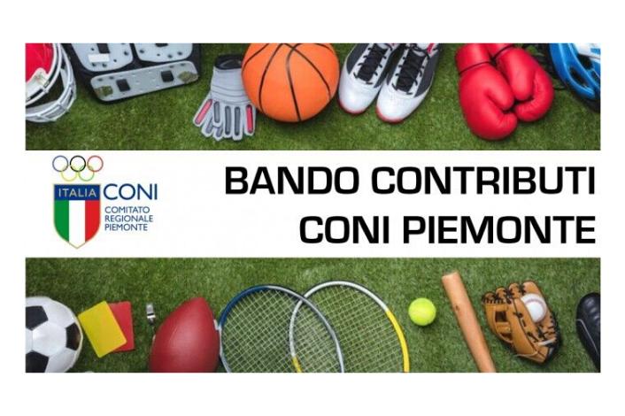 CONTRIBUTI PER ASD E SSD  – CONI CR Piemonte