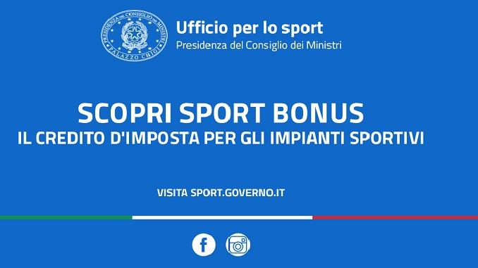 Sport Bonus: aperta la prima finestra 2020 (scadenza 6 luglio 2020)