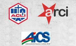 Appello di AICS, ARCI e ACLI a favore dei circoli del Piemonte