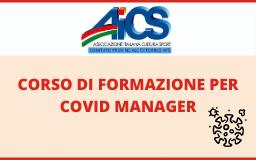 AICS TORINO ORGANIZZA IL CORSO DI FORMAZIONE PER COVID MANAGER
