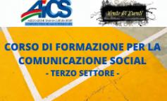 CORSO DI FORMAZIONE SULLA COMUNICAZIONE SOCIAL DEL TERZO SETTORE