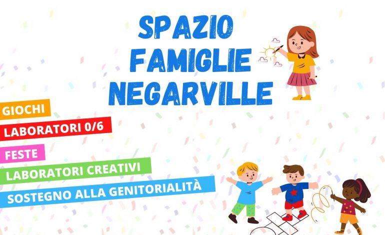 SPAZIO FAMIGLIE NEGARVILLE RIAPRE!